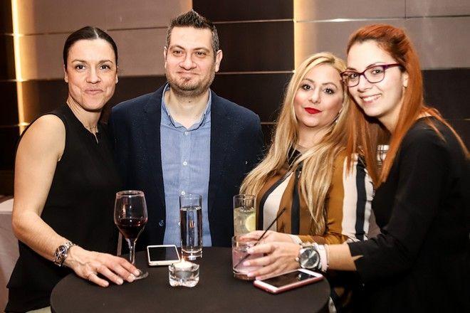 Από αριστερά: Σίλια Παπανάγνου, Δημήτρης Βάσσος, Νικολέττα Τσιλιβαράκου, Μαριλένα Μπάτη
