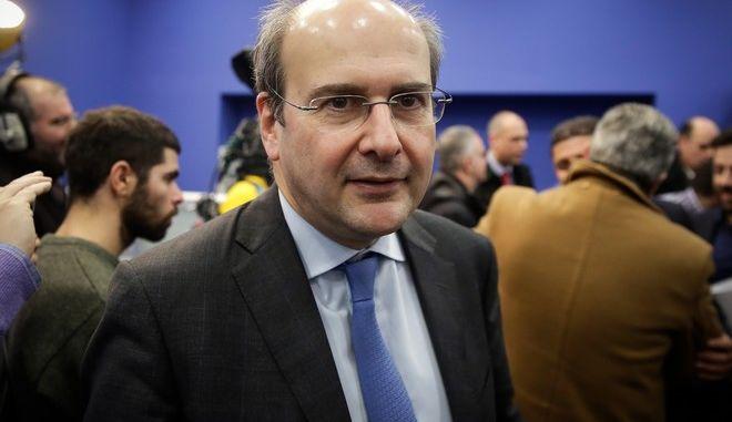 Ο αντιπρόεδρος της ΝΔ, Κωστής Χατζηδάκης