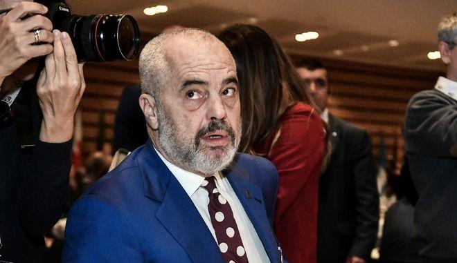 Ο πρωθυπουργός της Αλβανίας Εντι Ράμα