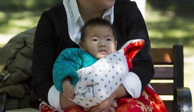Μωρό στην Κίνα
