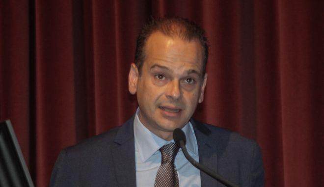 Ο γενικός γραμματέας του υπουργείου Μεταφορών, Θάνος Βούρδας