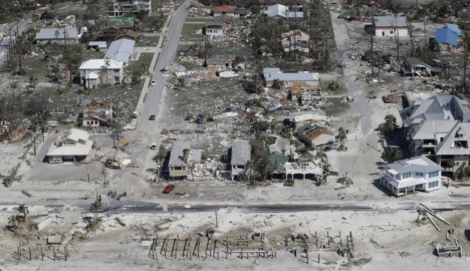 Η πόλη Mexico Beach στη Φλόριντα μετά το πέρασμα του τυφώνα Μάικλ