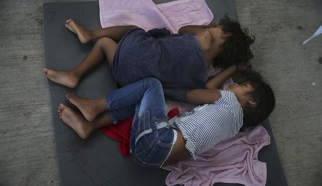 Παιδάκια μετανάστες