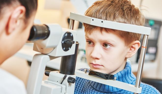 Εξέταση οφθαλμίατρου