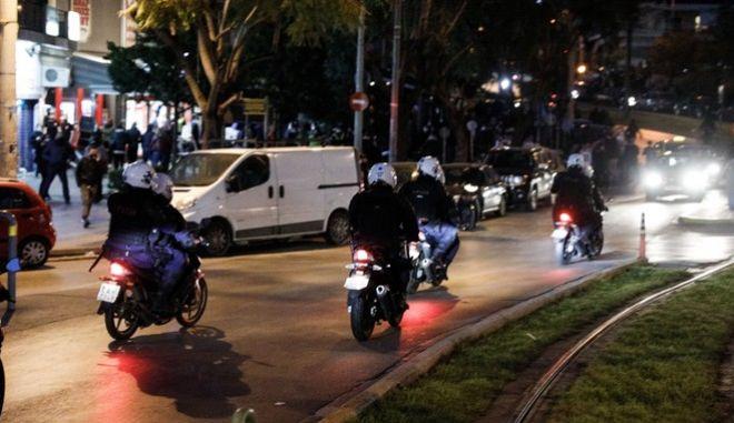 Αστυνομικοί στη Νέα Σμύρνη