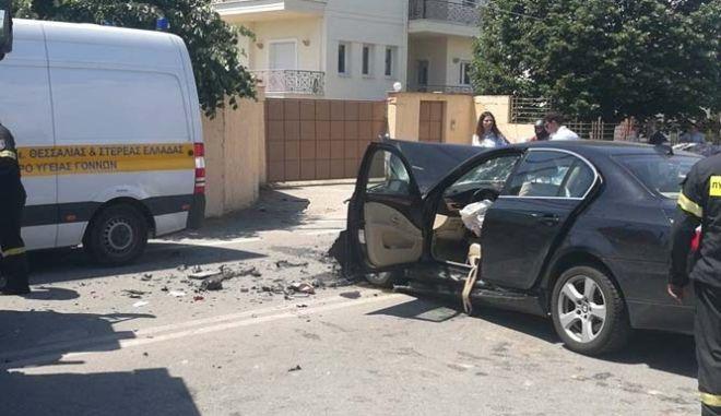 Τραγωδία στη Λάρισα: Δύο νεκροί και τρεις τραυματίες σε τροχαίο