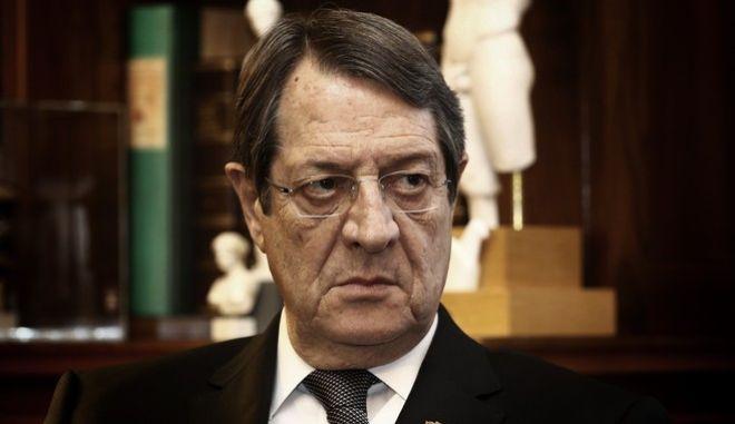 Ο πρόεδρος της Κυπριακής Δημοκρατίας, Νίκος Αναστασιάδης