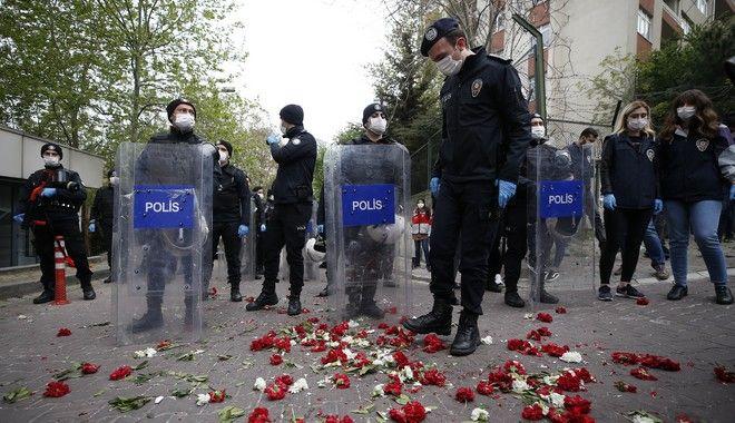Αστυνομικοί στην Τουρκία