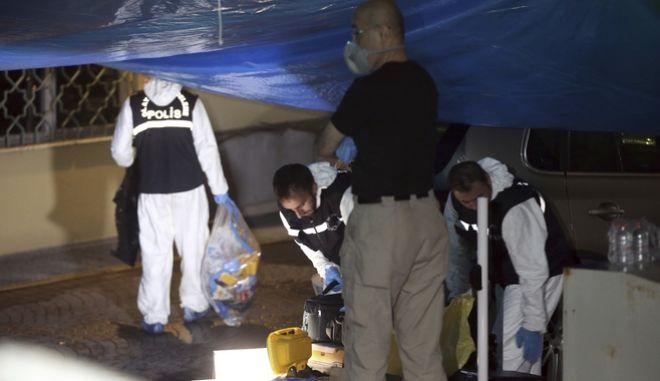 Έρευνες του εγκληματολογικού της τουρκικής αστυνομίας στο σαουδαραβικό προξενείο