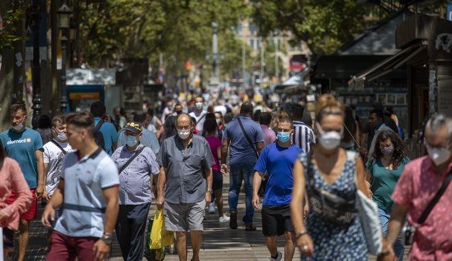 Κάτοικοι της Ισπανίας