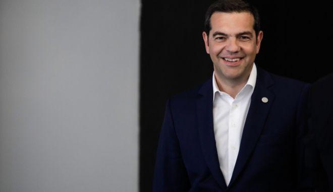 Ο πρωθυπουργός Αλέξης Τσίπρας στη Σύνοδο Κορυφής ΕΕ- Δυτικών Βαλκανίων στη Σόφια