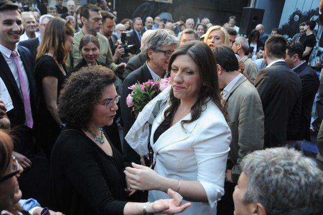 ΑΘΗΝΑ-Η Ζωή Κωνσταντοπούλου παρουσιάσε το νέο κόμμα της «Πλεύση Ελευθερίας».(Phasma-ΝΙΚΟΛΑΙΔΗΣ ΓΙΩΡΓΟΣ)