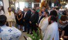 Επιμνημόσυνη δέηση στο εκκλησάκι του Αγίου Θωμά στο Κόκκινο Λιμανάκι για τα 102 θύματα της πυρκαγιάς στο Μάτι