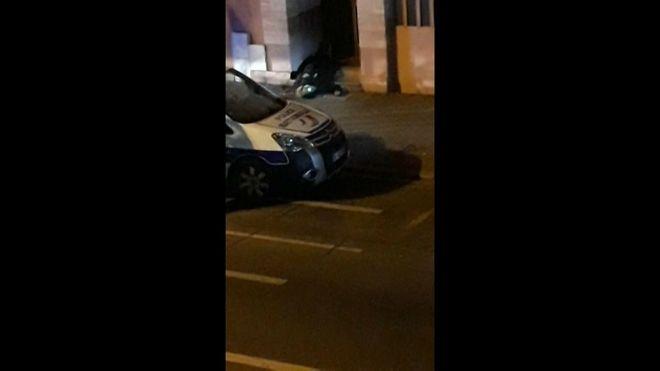 Φωτογραφίες: Ο μακελάρης του Στρασβούργου νεκρός - Αποθέωσαν την αστυνομία
