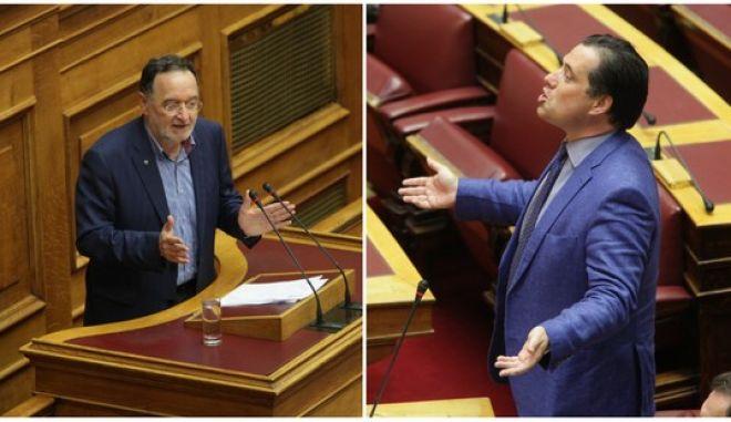 Γεωργιάδης εναντίον Λαφαζάνη για Ρωσία, ΟΛΠ και Μνημόνιο