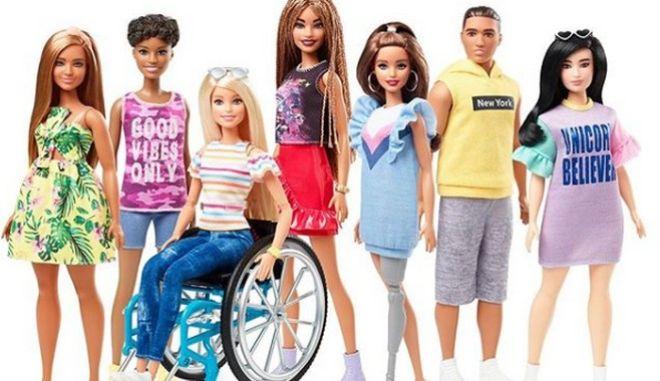 Έρχεται η πρώτη Barbie με κινητικές αναπηρίες