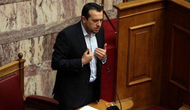 """Συνέχιση της συζήτησης στην Ολομέλεια της Βουλής, επί του σχεδίου νόμου """"Ρυθμίσεις θεμάτων Δημόσιου Ραδιοτηλεοπτικού Φορέα, Ελληνική Ραδιοφωνία Τηλεόραση Ανώνυμη Εταιρεία και τροποποίηση του άρθρου 48 του κ.ν. 2190/1920 και άλλες διατάξεις"""" την Τρίτη 28 Απριλίου 2015."""