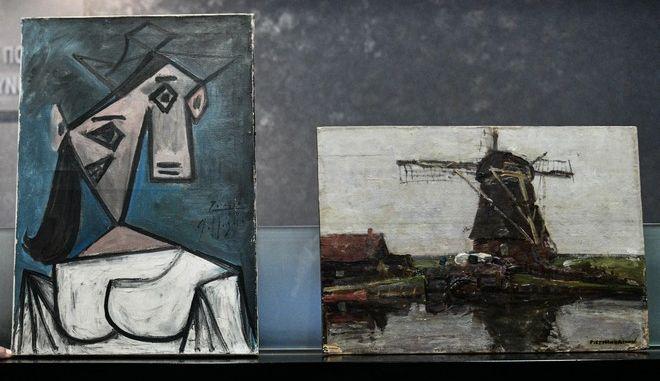 Οι πίνακες που εκλάπησαν και επιστράφηκαν στην Εθνική Πινακοθήκη