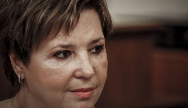 Η υπουργός Προστασίας του Πολίτη Όλγα Γεροβασίλη