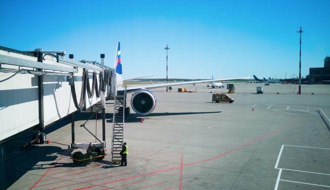 Εικόνα από το διεθνές αεροδρόμιο Σερεμέτιεβο της Μόσχας