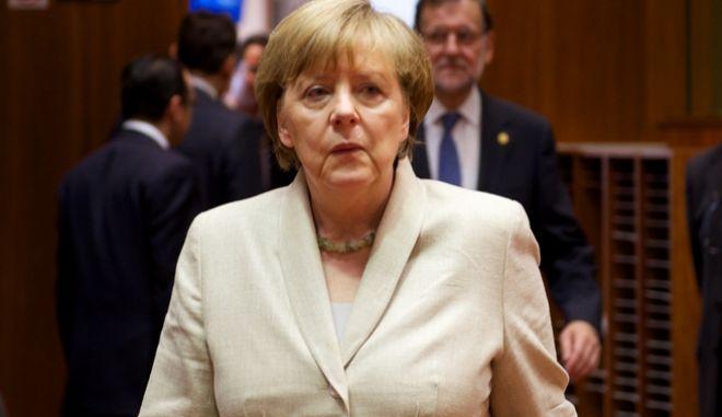 Στιγμιότυπο από τις εργασίες της 2ης ημέρας της Συνόδου Κορυφής των ηγετών της Ευρωπαϊκής Ένωσης την Παρασκευή 26 Ιουνίου 2015. (EUROKINISSI/ΕΥΡΩΠΑΪΚΗ ΕΝΩΣΗ)