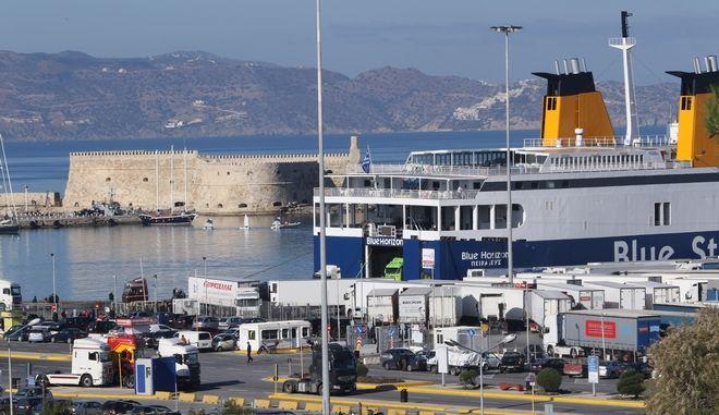Το λιμάνι του Ηρακλείου. Φωτό αρχείου.