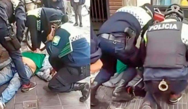 Άνδρας στην Αργεντινή πέθανε κατά τη σύλληψή του