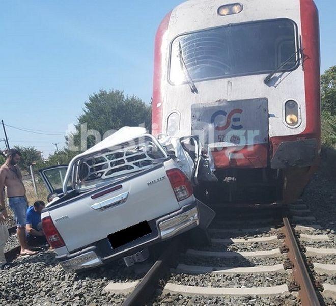Τραγικό δυστύχημα στα Διαβατά: Τρένο συγκρούστηκε με ΙΧ - Μία έγκυος νεκρή
