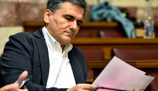 ΑΘΗΝΑ-Συνεδριάζει η Κοινοβουλευτική Ομάδα του ΣΥΡΙΖΑ,στην Αίθουσα Γερουσίας της Βουλής, με ομιλία του πρωθυπουργού και προέδρου του κόμματος, Αλέξη Τσίπρα.(Eurokinissi-ΜΠΟΛΑΡΗ ΤΑΤΙΑΝΑ)