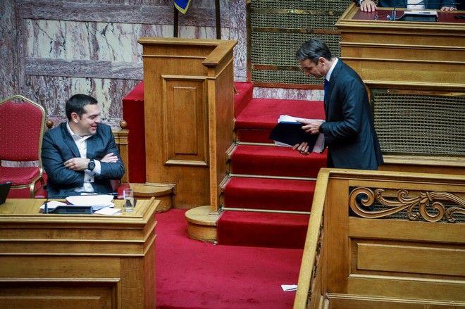 Ομιλία του Προέδρου της Νέας Δημοκρατίας Κυριάκου Μητσοτάκη, στην συζήτηση για παροχή ψήφου εμπιστοσύνης στην Κυβέρνηση