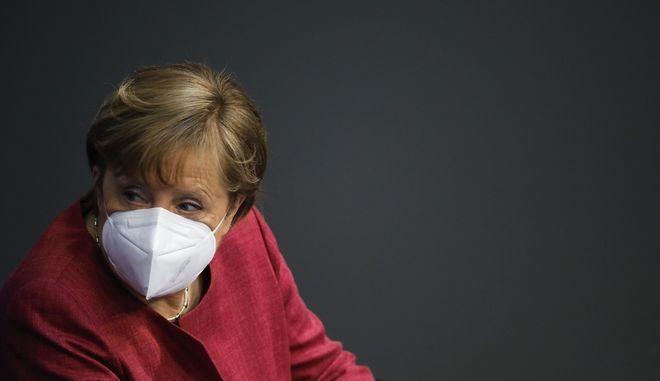 H γερμανίδα καγκελάριος Άνγκελα Μέρκελ
