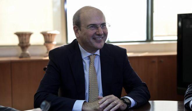 Ο υπουργός Εργασίας και Κοινωνικών Υποθέσεων Κωστής Χατζηδάκης