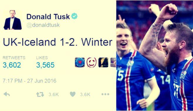 Winter is coming: Όταν ο Πολωνός Τουσκ τρολάρει την Αγγλία για τον αποκλεισμό της από την Ισλανδία