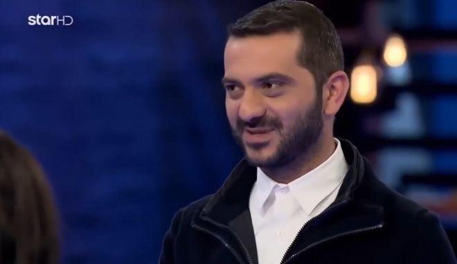 Ο Λεωνίδας Κουτσόπουλος στο MasterChef