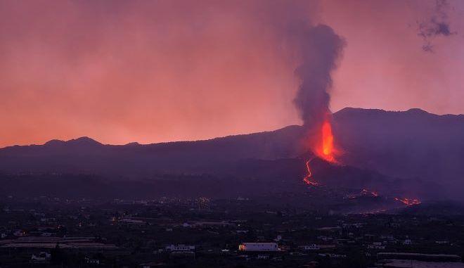 Το ηφαίστειο Κούμπρε Βιέχα