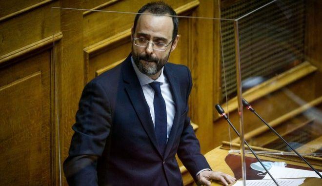 Ο βουλευτής της Νέας Δημοκρατίας, Κώστας Μαραβέγιας