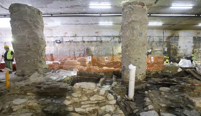 Παππάς: Καταστροφή του μνημείου φέρνει η απόσπαση των αρχαιοτήτων από το σταθμό Βενιζέλου