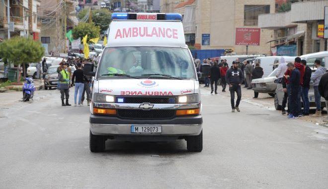 Ασθενοφόρο στο Ιράν