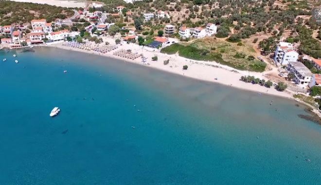 Αυτό είναι το στενότερο σημείο μεταξύ κάθε νησιού του Αιγαίου και της Τουρκίας
