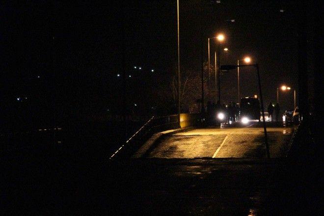 Κατέρρευσε η γέφυρα του Πηνειού στη Διάβα από τη βροχόπτωση