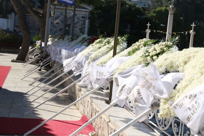 Κηδεία Σοφίας Κοκοσαλάκη