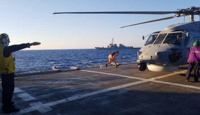 Αεροναυτική άσκηση Ελλάδας-ΗΠΑ νότια της Κρήτης