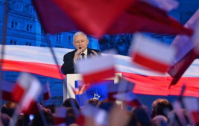 Ο επικεφαλής του κυβερνώντος Κόμματος του Νόμου και της Δικαιοσύνης, Γιάροσλαβ Κατσίνσκι