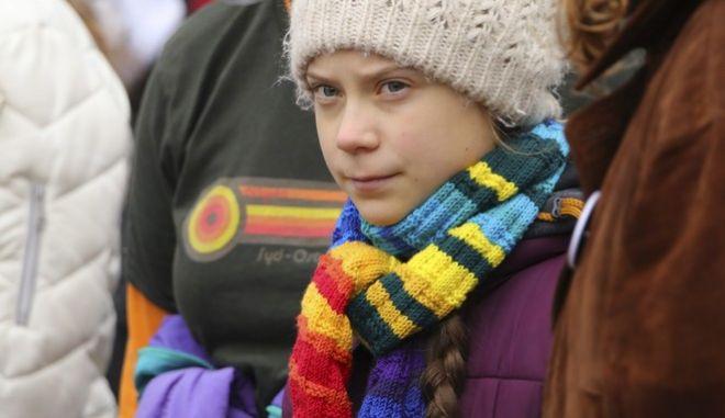 Η Σουηδή ακτιβίστρια για το κλίμα, Γκρέτα Τούνμπεργκ