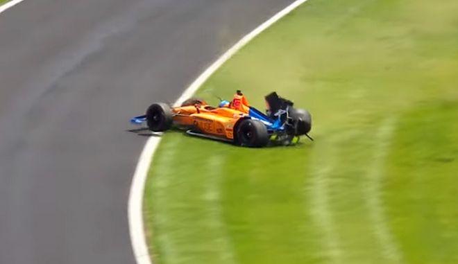 Τρομαχτικό ατύχημα για τον Φερνάντο Αλόνσο