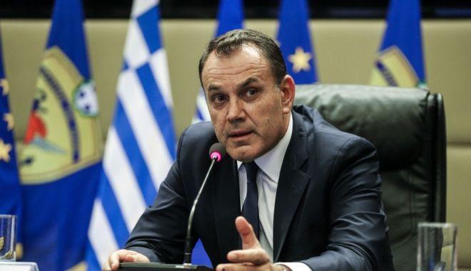 Ο υπουργός Άμυνας Νίκος Παναγιωτόπουλος.