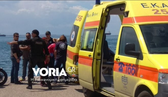 Θεσσαλονίκη: 64χρονος έπεσε στον Θερμαϊκό - Τον έβγαλε περαστικός