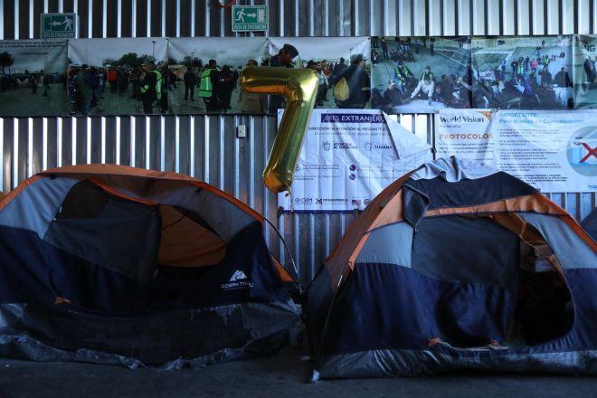 Θάλαμος σε καταφύγιο αιτούντων άσυλο στην Τιχουάνα