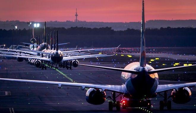 Η Lufthansa μειώνει τις πτήσεις της