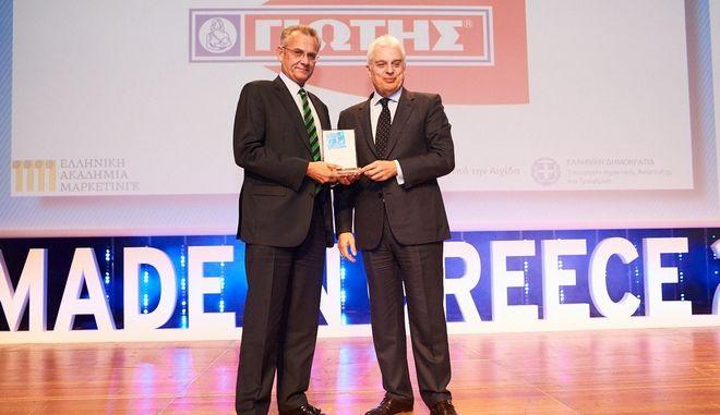 ΓΙΩΤΗΣ: Διπλή διάκριση στα βραβεία 'Made in Greece 2017'